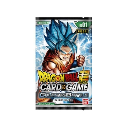 """ Dragon Ball Super Card Game "" Бустер - Galactic Battle"