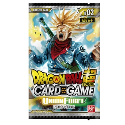 """ Dragon Ball Super Card Game "" Бустер - Union Force"