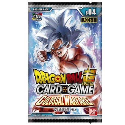 """ Dragon Ball Super Card Game "" Бустер Colossal Warfare"