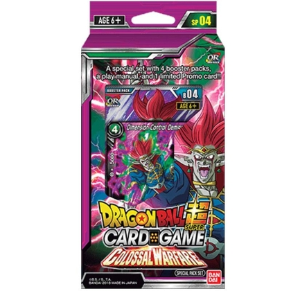 """ Dragon Ball Super Card Game "" Special Pack - Colossal Warfare"