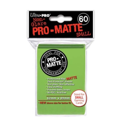 """ Ultra Pro "" MATTE Sleeves 60pc Green"