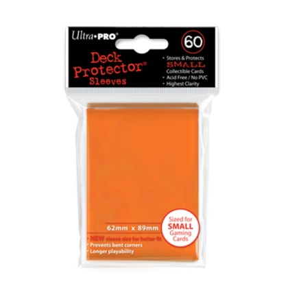""" Ultra Pro "" small Sleeves 60pc orange"
