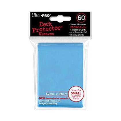 """ Ultra Pro "" small Sleeves 60pc blue"