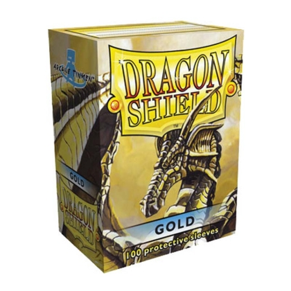 """ Dragon Shield "" Standart Card Sleeves 100pc - Gold"
