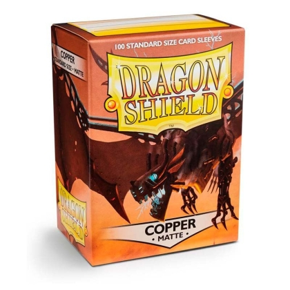 """ Dragon Shield "" Standart Card Sleeves 100pc - Copper"