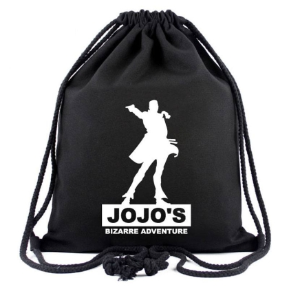 """ Jojo's Bizzarre Adventure "" Canvas Bag - Backpack"