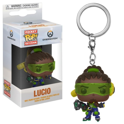 """ Overwatch "" Funko Pocket POP! Keychain - Lucio Vinyl Figure"
