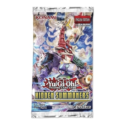 """ Yu-Gi-Oh! TCG "" Hidden Summoners Booster"