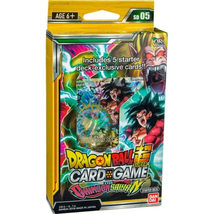 """ Dragon Ball Super Card Game "" Стартово тесте - The Crimson Saiyan"