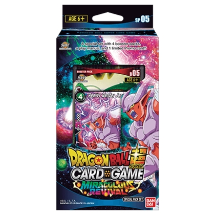 """ Dragon Ball Super Card Game "" Special Pack Set - Miraculous Revival"