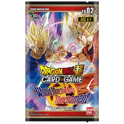 """ Dragon Ball Super Card Game "" Booster World Martial Arts Tournament"
