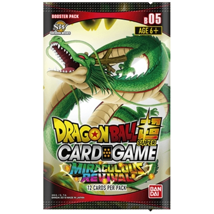 """ Dragon Ball Super Card Game "" Booster Miraculous Revival"