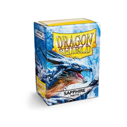 """ Dragon Shield "" Standart Card Sleeves 100pc - Sapphire"