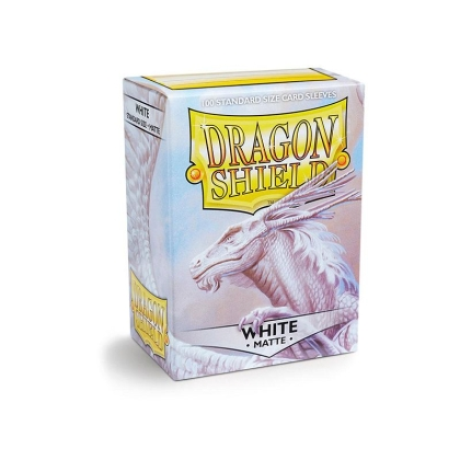 """ Dragon Shield "" Standart Card Sleeves 100pc - White"
