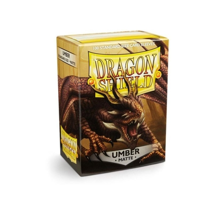 """ Dragon Shield "" Standart Card Sleeves 100pc - Umber"