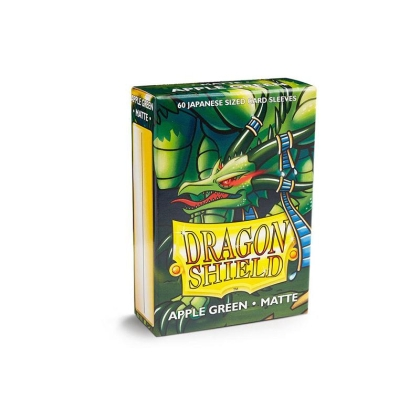 """ Dragon Shield "" Small Card Sleeves 60pc - Apple Green"