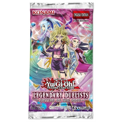 """ Yu-Gi-Oh! TCG "" Legendary Duelist: Sisters of the Rose - Бустер"