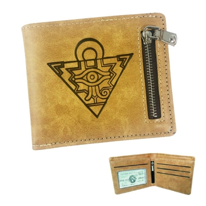 """ Yu-Gi-Oh! Duel Monsters "" Leather Wallet - Millennium Puzzle"