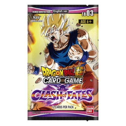 """ Dragon Ball Super Card Game "" Бустер Clash of Fates"