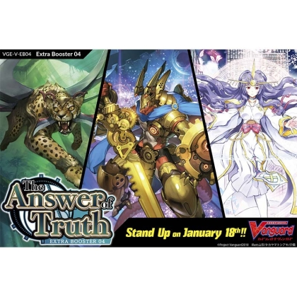 """ Cardfight!! Vanguard "" Extra Бустер V 04 - The Answer of Truth"