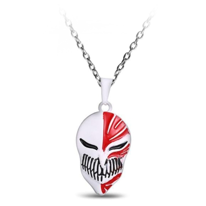 """ Bleach "" Necklace - Hollow Mask"