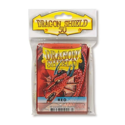 """ Dragon Shield "" Small Card Sleeves 50pc - silver"
