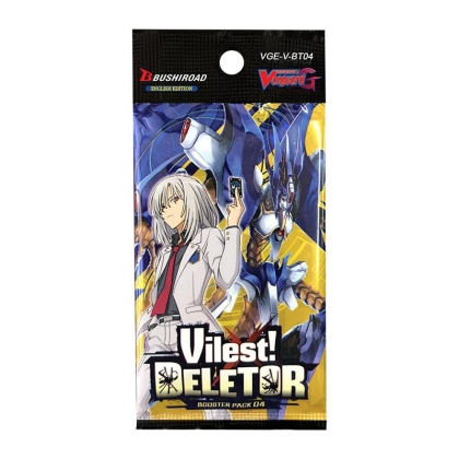 """ Cardfight!!! Vanguard "" V бустер Set 04: Vilest! Deletor"