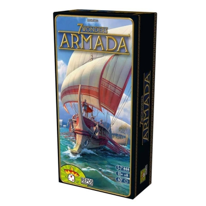 """ 7 Wonders "" : Armada - Board Game"