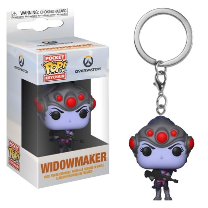 Funko POP! Keychain Overwatch - Widowmaker Vinyl Figure 4cm