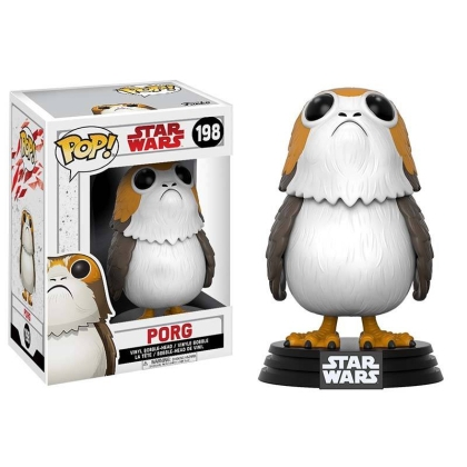 """ Star Wars: Episode 8 The Last Jedi""  Funko POP Колекционерска Фигурка - Porg Bobble Head"