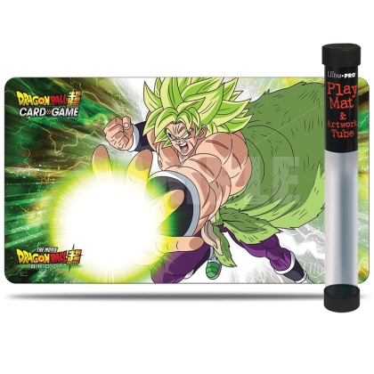 """ Dragon Ball Super Card Game "" Playmat + туба -Broly"