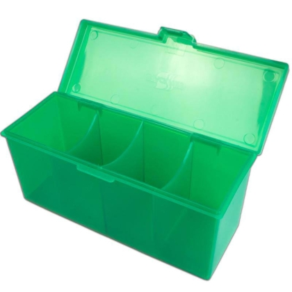 Blackfire 4-Compartment Storage Box - Blue