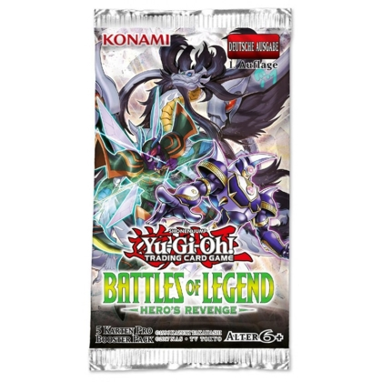 Yu-Gi-Oh! TCG: Battles of Legend - Hero's Revenge Бустер