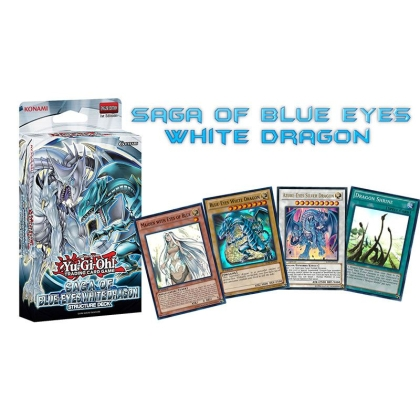 Yu-Gi-Oh! TCG Saga Of The Blue-Eyes White Dragon Тесте