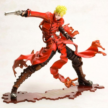 "Trigun Badlands Rumble - Колекционерска Фигурка  - Vash The Stampede ""Renewal Package Ver."" ARTFX J"