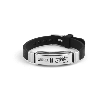 BTS Bracelet with signature  -  Jungkook