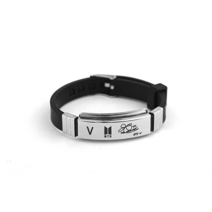 BTS Bracelet with signature  -  V
