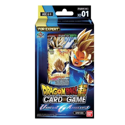DragonBall Super Card Game - Експерт Тесте - Universe 6 Assailants