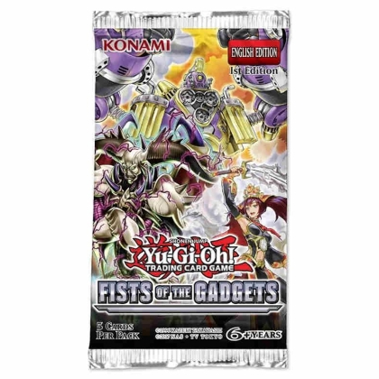 Yu-Gi-Oh! TCG Fists of the Gadgets Бустер