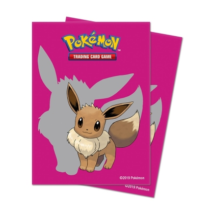 Pokemon! TCG: Протектори за карти 65 броя - Eevee