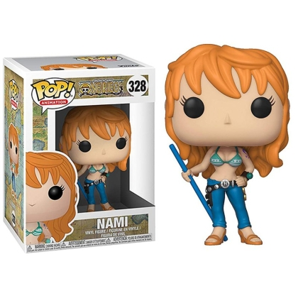 One Piece : Funko POP Collectible Statue/Figure - Nami